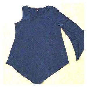3/$25 NWOT Alfani peacock dressy top shirt